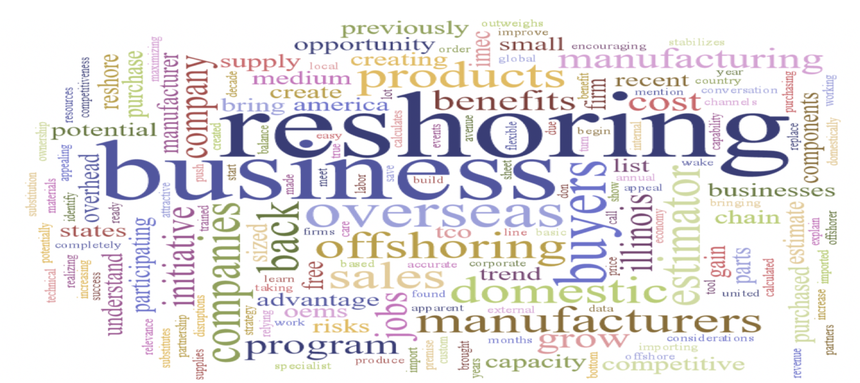 Reshoring: What Manufacturers Should Know